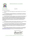 Click Here To Read The Bishop's Letter